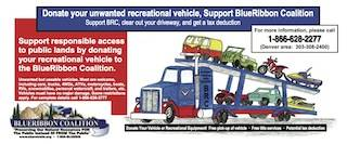 BlueRibbon Coalition Vehicle Donation Program